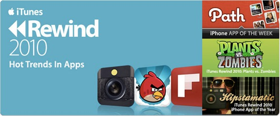 Лучшие программы и игры для iPhone, iPod touch и iPad 2010 года.