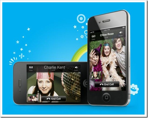 Видеоразговоры Skype на iPhone