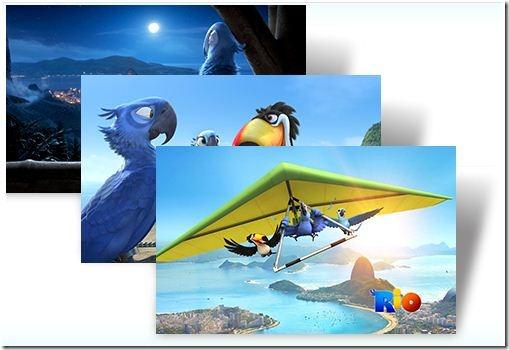 Рио - тема оформления для Windows 7