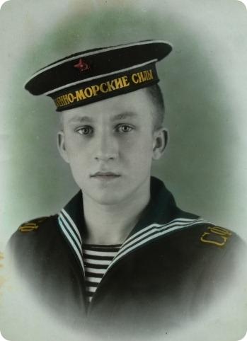 Дубровских Николай Васильевич. Январь 1956 года. Город Молотовск